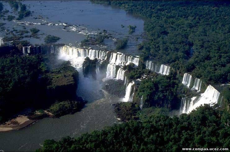Водоспад іґуасу розташований на
